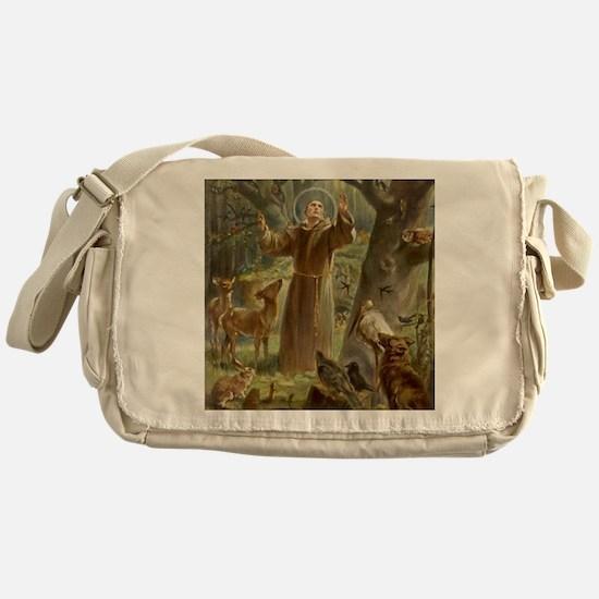 Cool Animals Messenger Bag