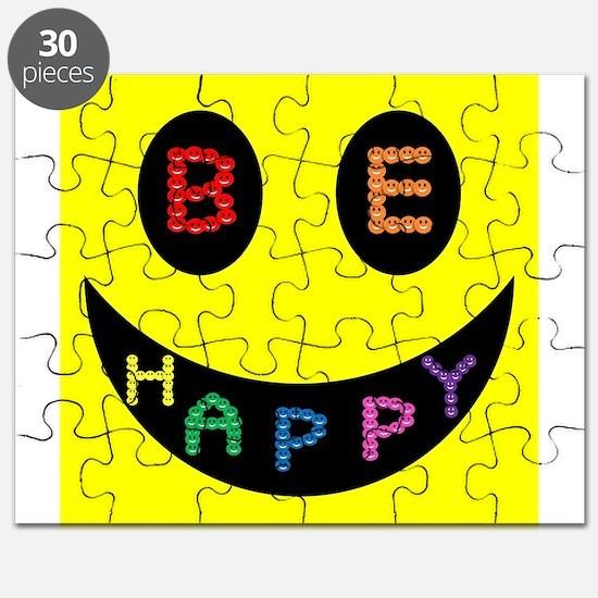 Be Happy Smile Puzzle