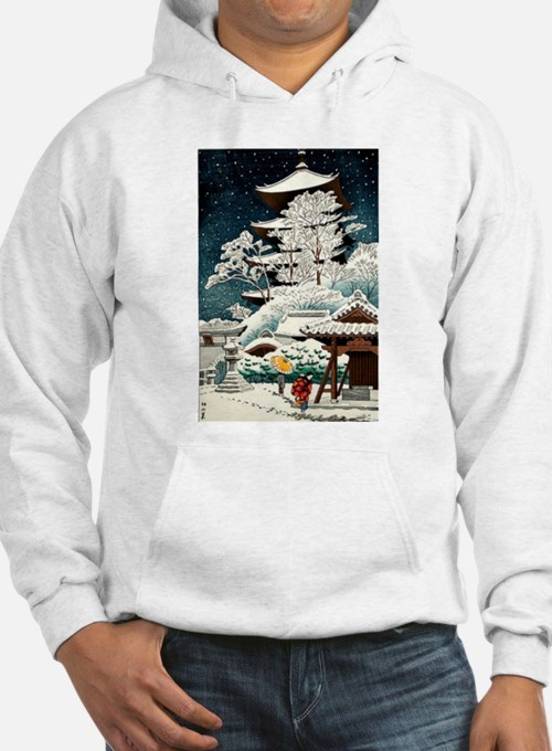 Cool Japanese Oriental Snow Winter Sweatshirt