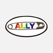 Safety Pin Ally Lgbtq Patch