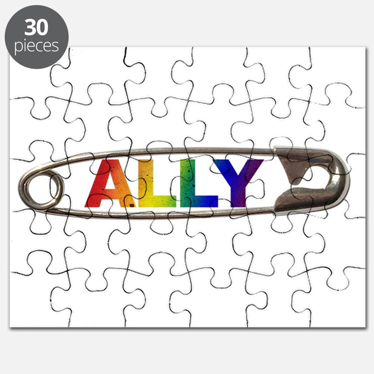 Safety Pin Ally Lgbtq Puzzle