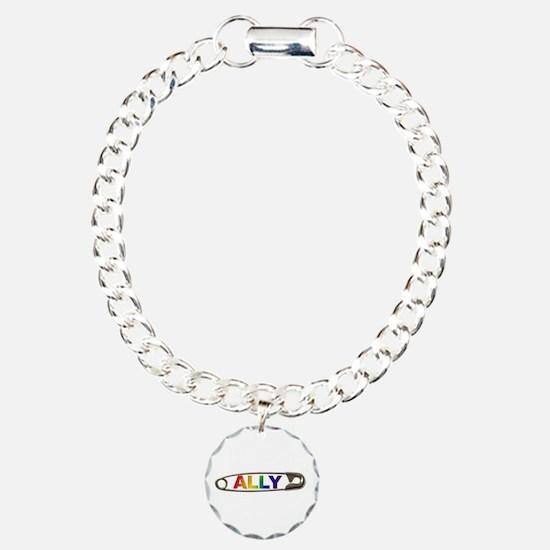 Safety Pin Ally Lgbtq Bracelet