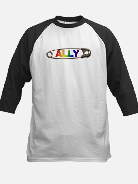 Safety Pin Ally LGBTQ Baseball Jersey