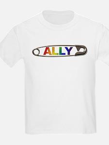 Safety Pin Ally LGBTQ T-Shirt