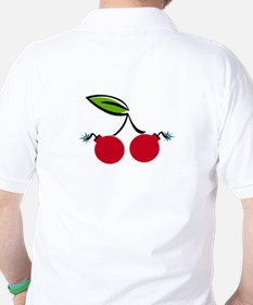 Cherry Bomb Golf Shirt