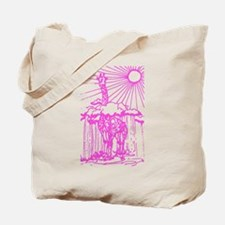 Sunshine giraffe pink. Tote Bag