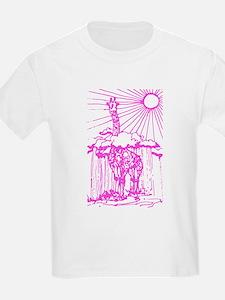 Sunshine giraffe pink. T-Shirt