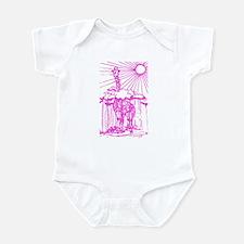 Sunshine giraffe pink. Infant Bodysuit