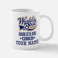 Wrestling Coach Personalized Gift Mugs
