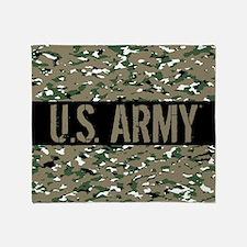 U.S. Army: Camouflage (ACU OCP Color Throw Blanket