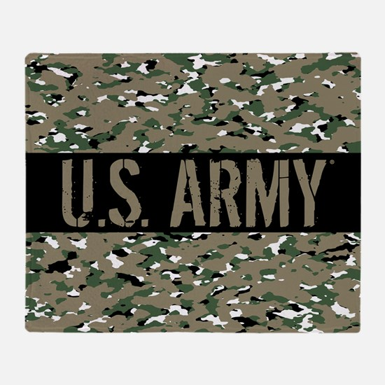 U.S. Army: Camouflage (ACU OCP Color Throw Blanket