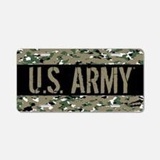 U.S. Army: Camouflage (ACU Aluminum License Plate