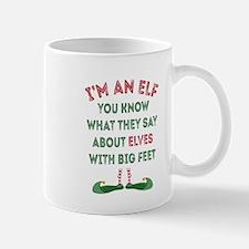 Funny Elf Mug