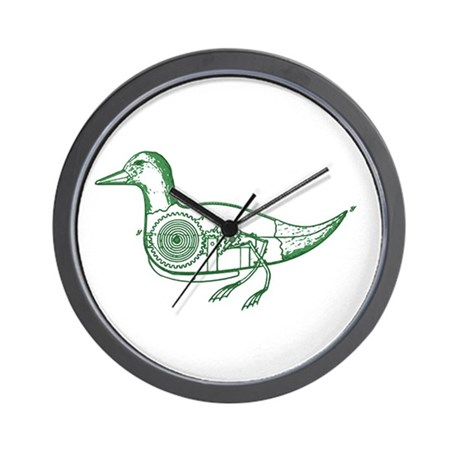 GREEN DUCK Wall Clock