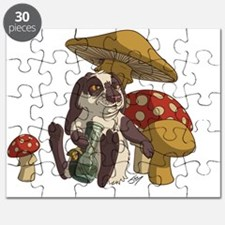 Cute 420 bunny Puzzle