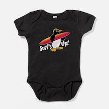 Surf's Up Penguin Body Suit