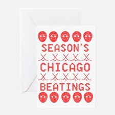 Funny Chicago christmas Greeting Card