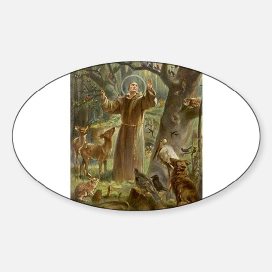 Saint Francis of Assisi Decal