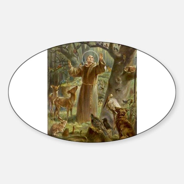 Saint Francis of Assisi Decal