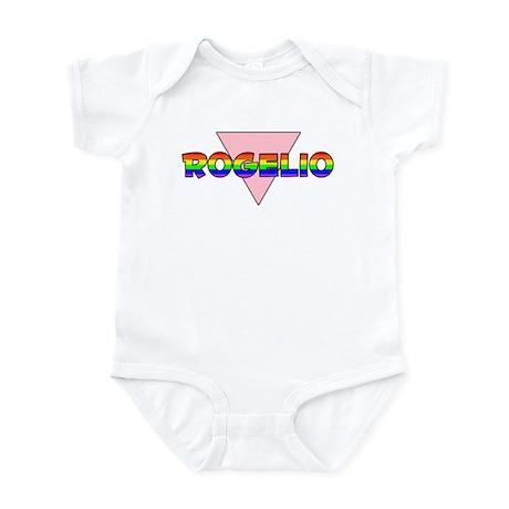 Rogelio Gay Pride (#002) Infant Bodysuit