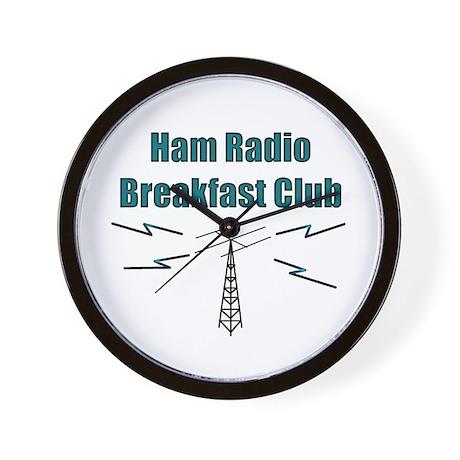 Ham Radio Breakfast Club Wall Clock