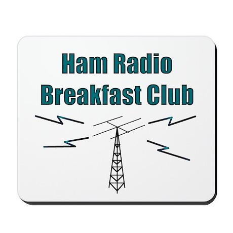 Ham Radio Breakfast Club Mousepad