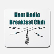 Ham Radio Breakfast Club Mousepad