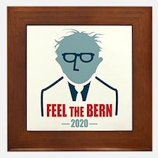 Feel The Bern 2020 Framed Tile