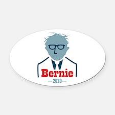 Bernie 2020 Oval Car Magnet