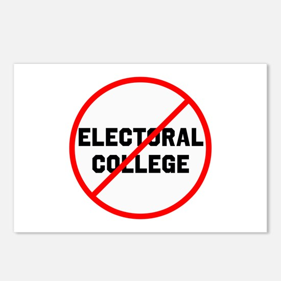 No electoral college Postcards (Package of 8)