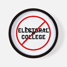 No electoral college Wall Clock