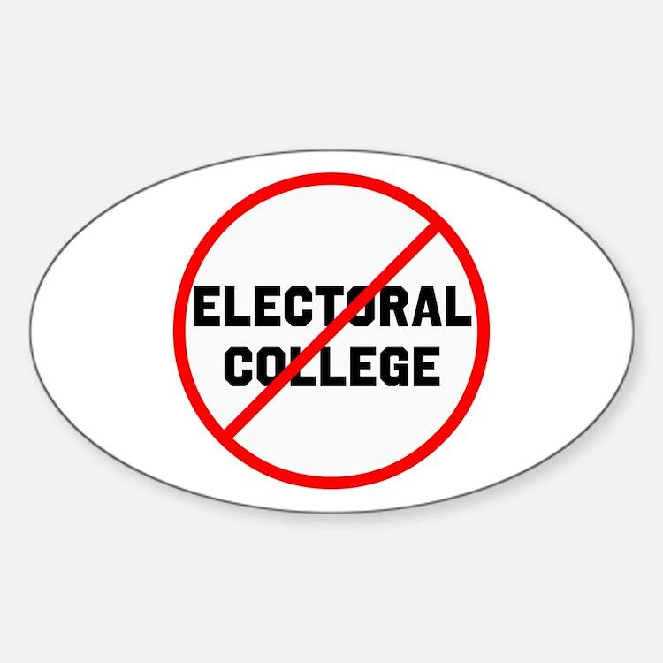 No electoral college Decal