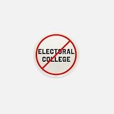 No electoral college Mini Button