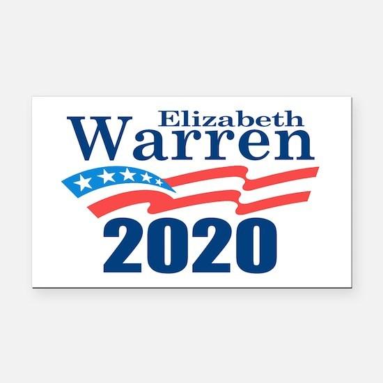 Warren 2020 Rectangle Car Magnet