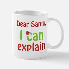 Santa I Can Explain Mugs