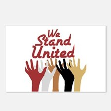 RightOn We Stand United Postcards (Package of 8)