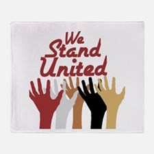 RightOn We Stand United Throw Blanket
