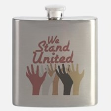 RightOn We Stand United Flask