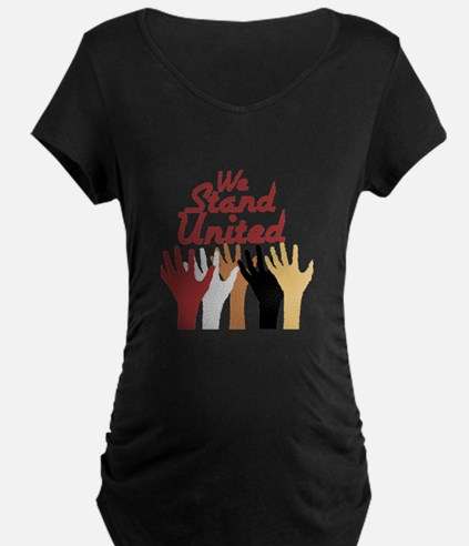 RightOn We Stand United Maternity T-Shirt