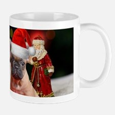 Christmas French Bulldog Mugs
