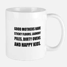 Good Mothers Happy Kids Mugs