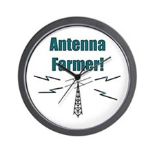 Antenna Farmer! Wall Clock