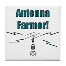 Antenna Farmer! Tile Coaster