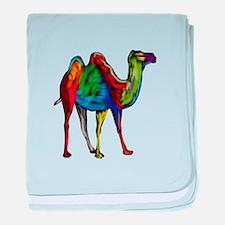 CAMEL baby blanket