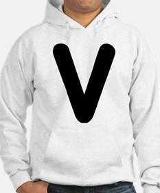Spell it with letters - V Sweatshirt