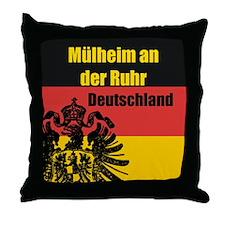 Mülheim an der Ruhr Throw Pillow