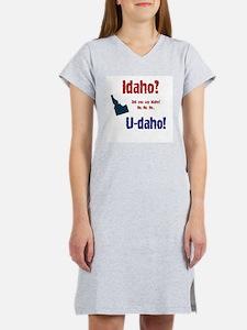 Idaho? U-daho! Ash Grey T-Shirt