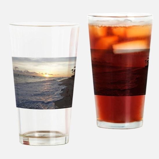 Punta Cana Sunrise Drinking Glass