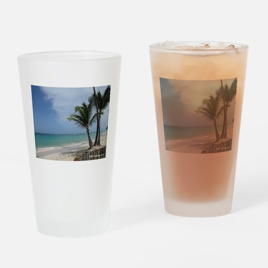 Punta Cana Playa Bavaro Drinking Glass