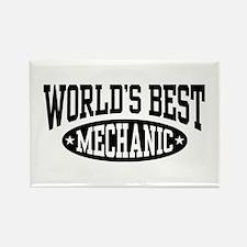 World's Best Mechanic Rectangle Magnet